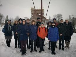 Экскурсия учащихся 8-го класса Бреховской школы