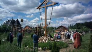 22 июня, в День памяти и скорби, по погибшим воинам была отслужена панихида