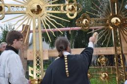 Вышел фильм об освящении и установке Крестов на здание нашего нового строящегося храма