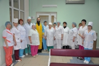 Освящение туберкулезной больницы г.Солнечногорска