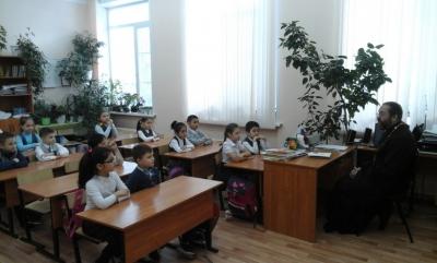 Занятия со школьниками Бреховской школы о Пасхе