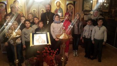 Уроки православия для школьников 4-х классов Бреховской школы