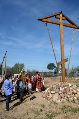 9 Мая 2013 года - Крестный ход, возложение цветов к Поклонному Кресту, концерт и чаепитие