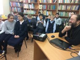 25 и 26 января в Кутузовской средней школе проходила выставка, посвященная новомученикам Солнечногорской земли
