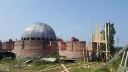 Строительство храма возобновилось!