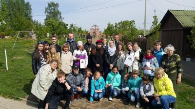 Визит юных исследователей истории Отечества
