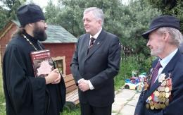 У нас в гостях ветераны войны из Белоруссии