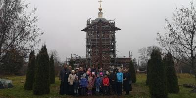 У нас в гостях прихожане Спасского храма Солнечногорска