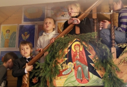 Детский Рождественский праздник