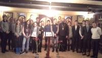 Встреча с учениками восьмых классов Бреховской школы.