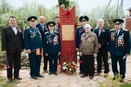 Открытие и освящение памятников в честь Дня Победы