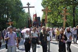 Крестный ход в честь 700-летия Сергия Радонежского
