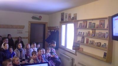 Новая форма занятий воскресной школы для дошкольников.