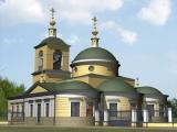 Храм-памятник битве под Москвой 1941 года